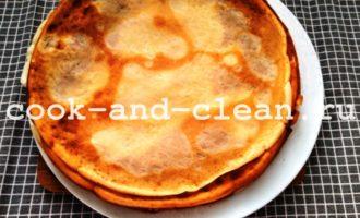 блины с курицей и сыром пошагово с фото