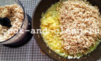 блины с курицей и сыром рецепт с фото