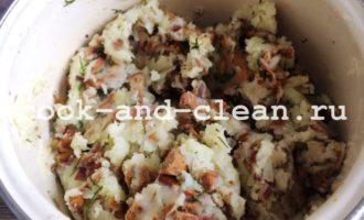вареники с картошкой и грибами рецепт с фото