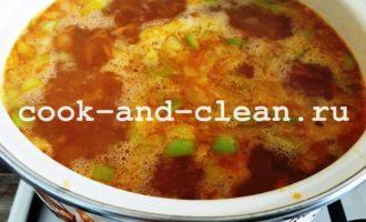 вкусный суп с рисом пошаговый