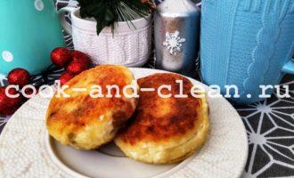 воздушные сырники с манкой рецепт пошаговый с фото