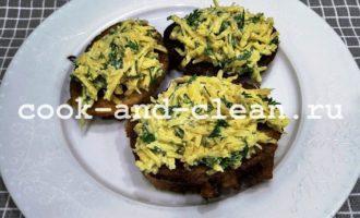 гренки с сыром и чесноком пошаговый