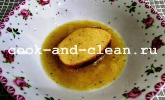 гренки с сыром и чесноком рецепт