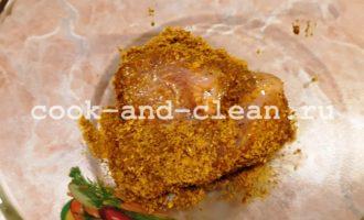 домашние наггетсы из курицы на сковороде