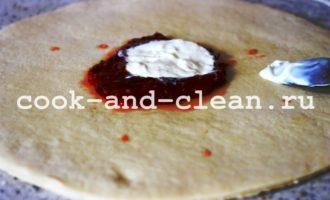 домашняя пицца в духовке с грибами рецепт с фото