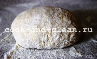 домашняя пицца в духовке с грибами фото рецепт