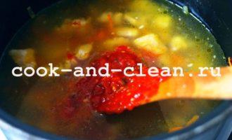 жаркое по-домашнему из свинины с картошкой рецепт с фото