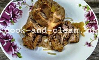 как приготовить борщ со свининой в мультиварке