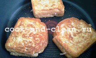 как приготовить горячий бутерброд с колбасой и сыром