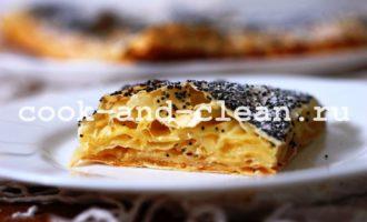 как приготовить пирог с джемом