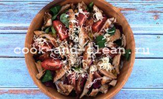 как приготовить салат с куриным филе и кукурузой