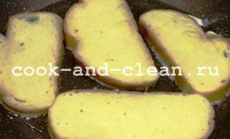 как приготовить сладкие гренки из белого хлеба
