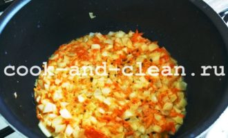 картофельное пюре с морковью и луком фото рецепт