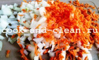 картофельное пюре с морковью и луком фото