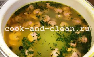 картофельный суп с сосисками рецепт с фото пошагово