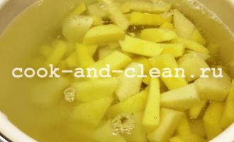 картофельный суп с сосисками рецепт с фото