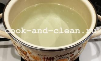 картофельный суп с сосисками рецепт