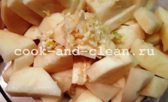 картофель дольками в духовке с чесноком