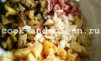 немецкий картофельный салат фото рецепт