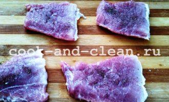 отбивные из свинины классические рецепт