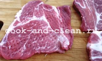 отбивные из свинины с луком рецепт
