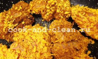 рецепт домашних наггетсов из курицы на сковороде