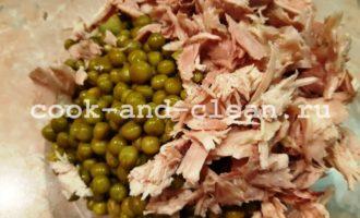 рецепт оливье без картофеля