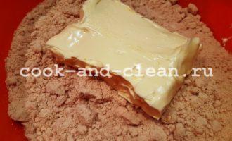 рецепт пирожного картошка из печенья без сгущенки