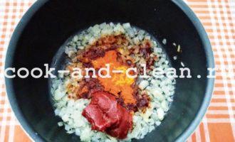 рис с томатной пастой фото рецепт