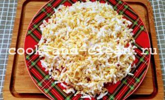 салат восточный с колбасой рецепт пошагово