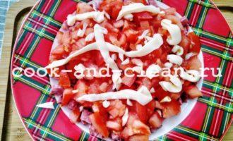 салат восточный с колбасой рецепт с фото