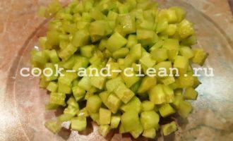 салат оливье без картофеля