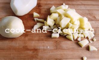 салат с картофелем и солеными огурцами рецепт фото