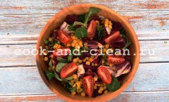салат с куриным филе и кукурузой фото рецепт