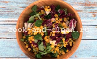 салат с куриным филе и кукурузой фото