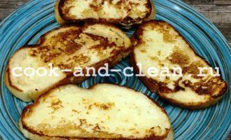 сладкие гренки из белого хлеба с фото