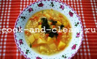 суп с птитимом рецепт с фото