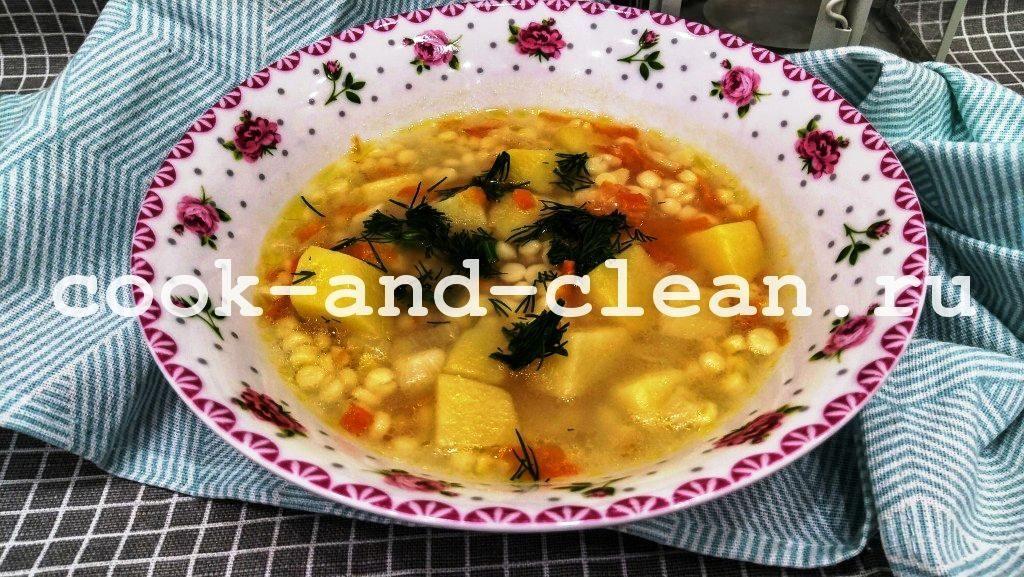 суп с птитимом