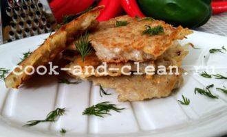 Драники с сыром на сковороде