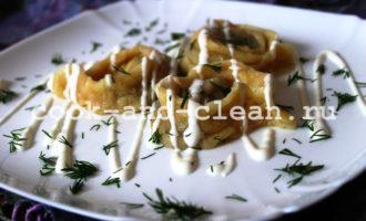 Дрожжевое тесто для вареников
