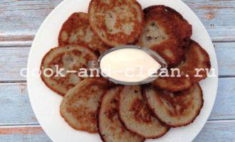 Классические драники с картофелем