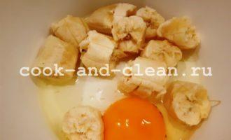 блины из бананов и яиц рецепт