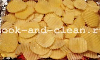 вкусная картошка в духовке с фаршем рецепт