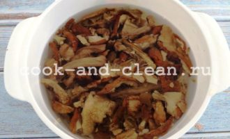 грибной суп с домашней лапшой пошаговый рецепт