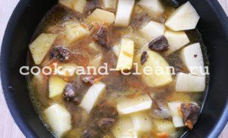 жаркое из куриных сердечек рецепт с фото
