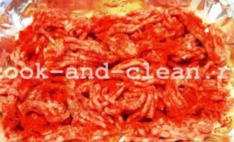 запечь картошку с фаршем в духовке рецепт
