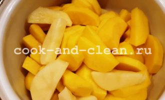 запеканка с сосисками и картофелем в духовке