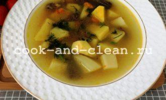как приготовить суп из куриных сердечек