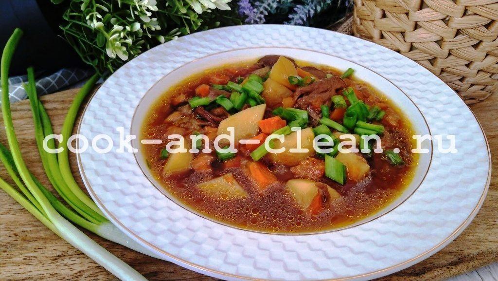 как приготовить суп из сушеных грибов с картошкой