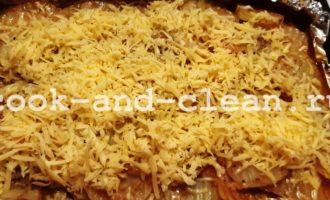 как сделать картошку с фаршем в духовке